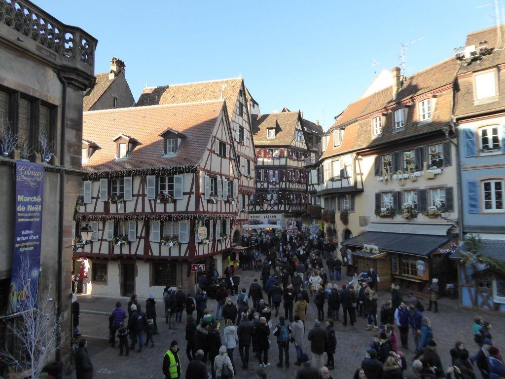 Menschenmassen in Colmar