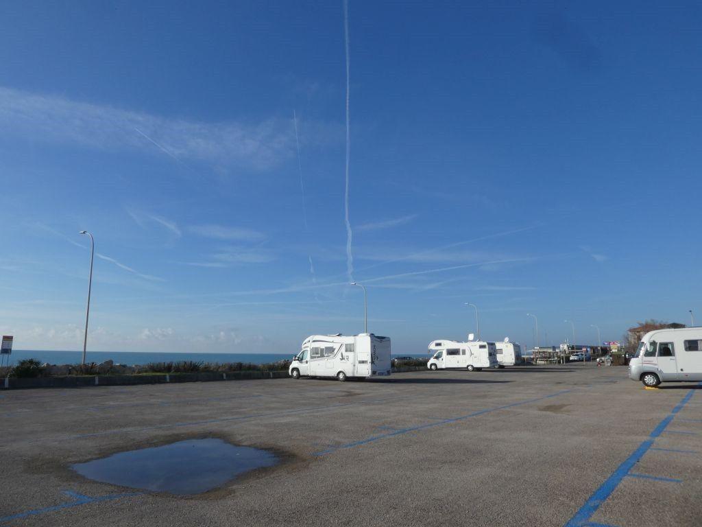 Parkplatz Marina di Pisa